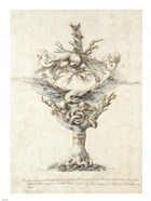 Design for a Ewer with Eagles and PuttI