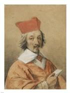Portrait of Armand-Jean du Plessis, Cardinal de Richelieu