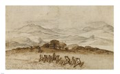 Landscape in Latium with Farm Laborers