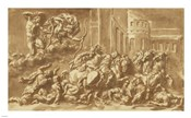 The Sons of Niobe Being Slain by Apollo and Diana