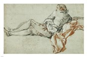 Reclining Male Figure