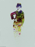 Charlie Chaplin Watercolor