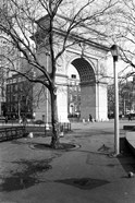 Arc de Triomphe in Washington Square Park
