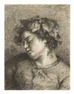 Head of a Sleeping Bacchante