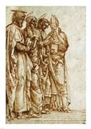 Study of Four Saints