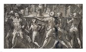 Triumphal Procession of Roman Soldiers Carrying a Model of a City