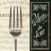 French Menu II