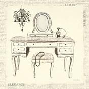Emily's Boudoir III Table