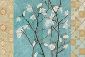 Patterned Magnolia Branch
