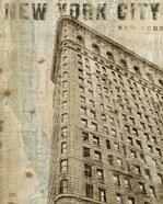 Vintage NY Flat Iron