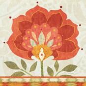 Ikat Bloom I