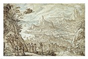 An Extensive Estuary Landscape with the Story of Mercury and Herse