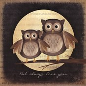 Owl Always Love You - Pair of Owls