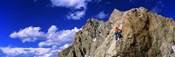 Rock Climber Grand Teton National Park WY USA