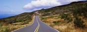 Road passing through hills, Maui, Hawaii, USA