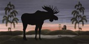 Moose at Dusk