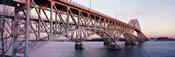 Bridge across a river, South Grand Island Bridge, Niagara River, Grand Island, Erie County, New York State, USA