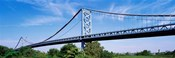 USA, Philadelphia, Pennsylvania, Benjamin Franklin Bridge over the Delaware River