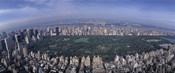 Aerial Central Park New York NY USA