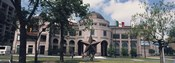 Facade of a building, Texas State History Museum, Austin, Texas, USA