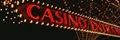 Low angle view of neon sign, Las Vegas, Nevada, USA