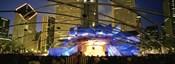 USA, Illinois, Chicago, Millennium Park, Pritzker Pavilion, Spectators watching the show