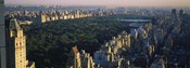 Central Park and Manhattan, New York City