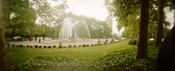 Fountain in a park, Prospect Park, Brooklyn, New York City, New York State, USA