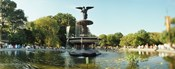 Fountain in a park, Central Park, Manhattan, New York City, New York State, USA
