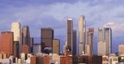 Los Angeles skyline, Los Angeles County, California, USA