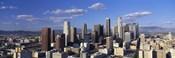 Daylight Skyline, Los Angeles, California, USA
