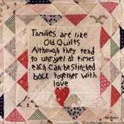 Families are Like Quilts