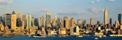 Hudson River, City Skyline, NYC, New York City, New York State, USA