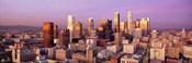 Sunset Skyline Los Angeles CA USA