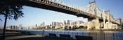 Queensboro Bridge Over East River, Manhattan