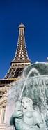 Fountain Eiffel Tower Las Vegas NV