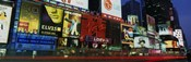 Billboards On Buildings In A City, Times Square, NYC, New York City, New York State, USA