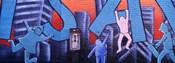 Mural, NYC, New York City, New York State, USA