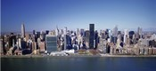 Buildings on the waterfront, Manhattan, New York City, New York State, USA