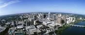 Aerial view of a city, Austin,Texas