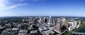 High angle view of a city, Austin, Texas, USA