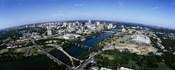 Bird's Eye view of Austin,Texas