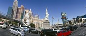 New York New York Hotel, MGM Casino, Excalibur Hotel and Casino, The Strip, Las Vegas, Clark County, Nevada, USA