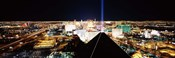 High angle view of a city from Mandalay Bay Resort and Casino, Las Vegas, Clark County, Nevada, USA