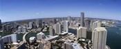 Aerial View of Miami, Florida, 2008