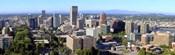 High angle view of a cityscape, Portland, Multnomah County, Oregon