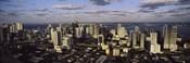 Clouds over the city skyline, Miami, Florida