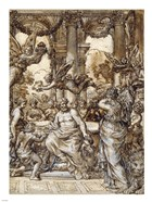 Cybele before the Council of the Gods