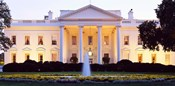 USA, Washington DC, White House, twilight