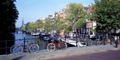 Netherlands, Amsterdam, bicycles